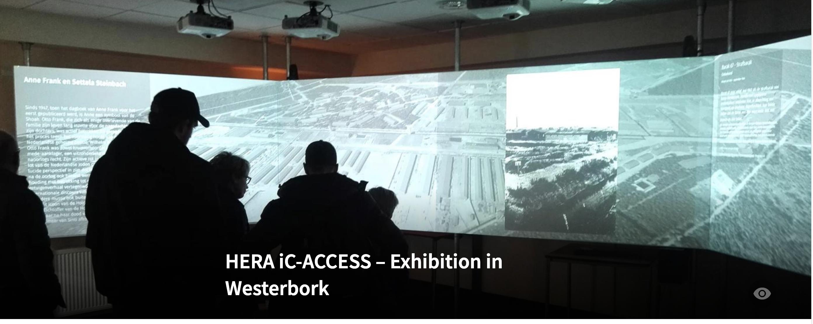 Westerbork 3D installation